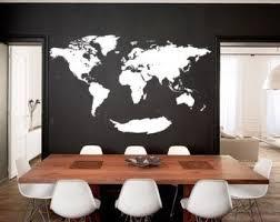 230cm W <b>Map wall decal</b> by WorldMaps on Etsy - Pinterest.ru