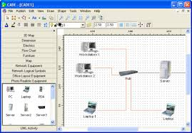 top  network diagram  topology  amp  mapping software   pc  amp  network    cade network diagram software