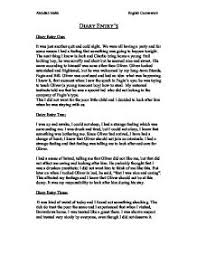 oliver twist nancy diary entries   gcse english   marked by  page  zoom in