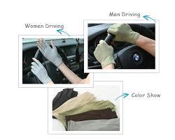 New <b>Suede Summer Gloves Male</b> Female Thin Semi Finger Gloves ...