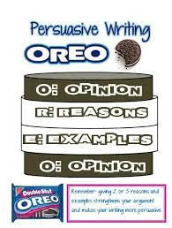 i thought this image was interesting because it compared writing    i thought this image was interesting because it compared writing an essay to a double stuffed oreo  it gives the appearance that oreos and school go