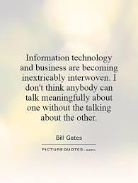 Business And Technology Quotes. QuotesGram via Relatably.com