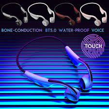 <b>V9</b> Touch-Control Bluetooth 5.0 Headset IPX6 <b>Waterproof</b> Wireless ...