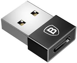 Переходник <b>Baseus Exquisite</b> USB Male to Type-C Female, цвет ...