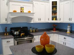 blue kitchen cabinets small painting color ideas: best kitchen paint ideas with white cabinets