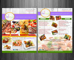 colorful bold advertising flyer designs for a advertising flyer design design 1908453 submitted to soul food restaurant needs flyer advertising new
