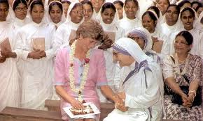 Mother Teresa letter reveals Princess Diana's spirituality | Daily Mail ...