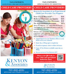 child care providers tax services our ccp brochure