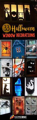 love halloween window decor: halloween window decorations cfecbefbebac halloween window decorations