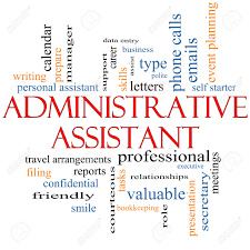 administrative assistant images stock pictures royalty administrative assistant administrative assistant word cloud concept great terms such as professional secretary