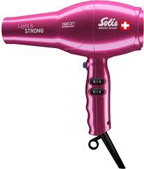 <b>Фен Solis Light</b> & Strong, Pink