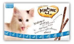 Купить со скидкой <b>Мнямс лакомые палочки для</b> кошек с лососем ...