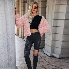Fashion Autumn Spring <b>Women</b> Jackets <b>Womens</b> Warm <b>Short Faux</b> ...