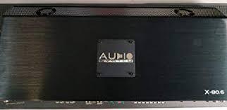 <b>Audio System</b> X-80.6 - <b>X</b>--<b>ION</b>-<b>SERIES</b> 6-Kanal