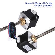 <b>Nema17 Stepper</b> Motor 17HS4401S <b>40MM</b> With Lead Screw T8 300 ...