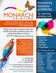 dazzling ideas you can steal from prints com monarch printing flyer by aa3 print flyer printing