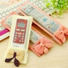 <b>3 pcs</b>/pack (S M L) <b>Lace</b> Flower Cloth Art Remote Control Cover Tv ...
