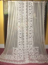 So <b>hard</b> to come by, ...<b>exquisite antique</b> lace curtains! http://www ...