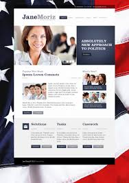 political candidate website template 36523
