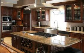 Kitchen Islands With Granite Countertops Kitchen Natural Wood All Cabinet Natural Wood Drawer Base