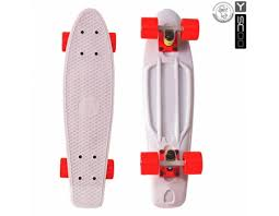 "<b>Скейтборд Y-SCOO Fishskateboard 22</b>"" винил 56,6х15 с сумкой"