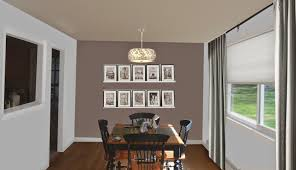 Dining Room Feature Wall Weafer Design Living Room Dining Room Paint Colors
