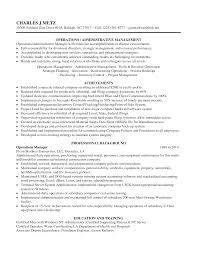 inventory manager resume resume badak administrative operations manager resume