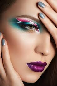 Teal and Pink <b>Eye Makeup</b> | Artistry <b>makeup</b>, <b>Eye makeup</b> art ...