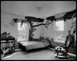 astounding small kids black and white bedrooms design with black trees wall decal on white wall bedroom furniture inspiration astounding bedrooms