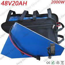 2019 Free Customs Duty <b>48V 2000W Triangle</b> Lithium <b>Battery 48V</b> ...