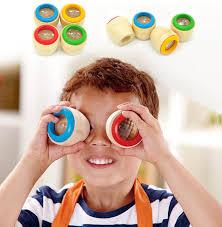 <b>Wooden Educational</b> Magic Kaleidoscope Toys For <b>Baby Kid</b> ...