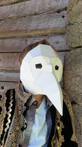 DIY <b>Halloween mask Plague Doctor</b> Mask Paper by GreenMindedWolf