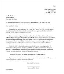 early lease termination letter example early lease termination letter template