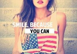 Smile because you can quotes quote girl smile tumblr girly quotes ...