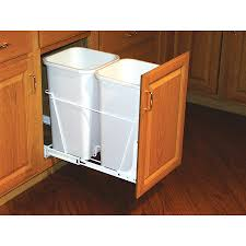 Kitchen Cabinet Garbage Drawer Shop Pull Out Trash Cans At Lowescom