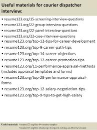 dispatcher resume objective  seangarrette cotop  courier dispatcher resume samples    dispatcher resume