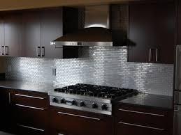 kitchen backsplash stainless steel tiles:  stainless steel tile backsplash ideas backsplash ideas for kitchen credit