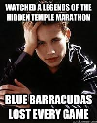 watched a legends of the hidden temple marathon blue barracudas ... via Relatably.com