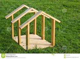Dog House Wood Frame Royalty Free Stock Images   Image  Dog House Wood Frame