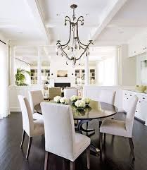dining table parson chairs interior: traditional home benjamin moore morning dew sutcliffe dining table restoration hardware hudson parsons chairs coffered ceiling pinterest benjamin