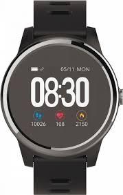 Купить <b>умные часы GEOZON Vita</b> PLUS black and red в Москве ...