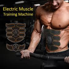 <b>Electric Muscle Training Machine</b> Abdominal Arm Muscle Trainer ...