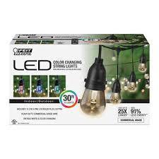 FEIT <b>30' LED</b> Color Changing <b>String</b> Lights