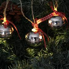Jingle Bell Garland Jingle Bells Christmas Garland Light By Red Berry Apple