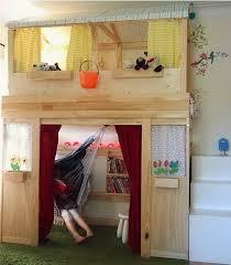 girls room playful bedroom furniture kids: fun playful bed for kids from ikea beds indoors kids ikea cabin