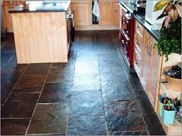 Slate Flooring For Kitchen Fix Your Kitchen With Slate Kitchen Flooring Mybktouchcom