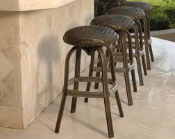 wicker bar height dining table: full size of patio amp outdoor stylish patio furniture outdoor wicker bar stool backless barstool