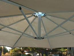 metre giant umbrella: our umbrellas give you the option of shading your pool while swimming or you can rotate your umbrella to shade your outdoor table and chairs while enjoying