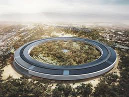 apple spaceship campus 2 photos show office building taking shape business insider apple cupertino office