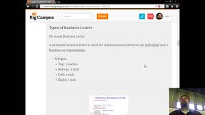 introduction to letters and memos personal business letter introduction to letters and memos personal business letter